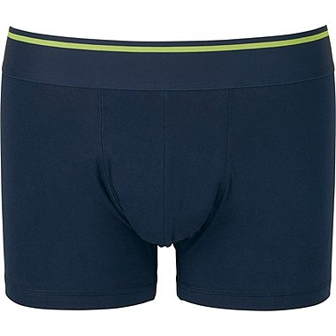 Mens Supima® Cotton Low Rise Boxer Briefs, NAVY, medium