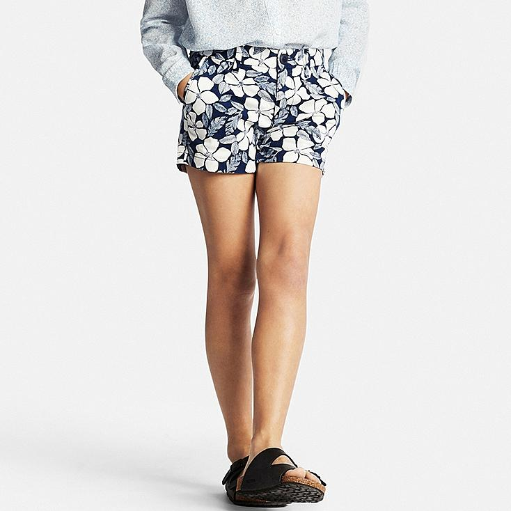 GIRLS Chino Shorts, NAVY, large