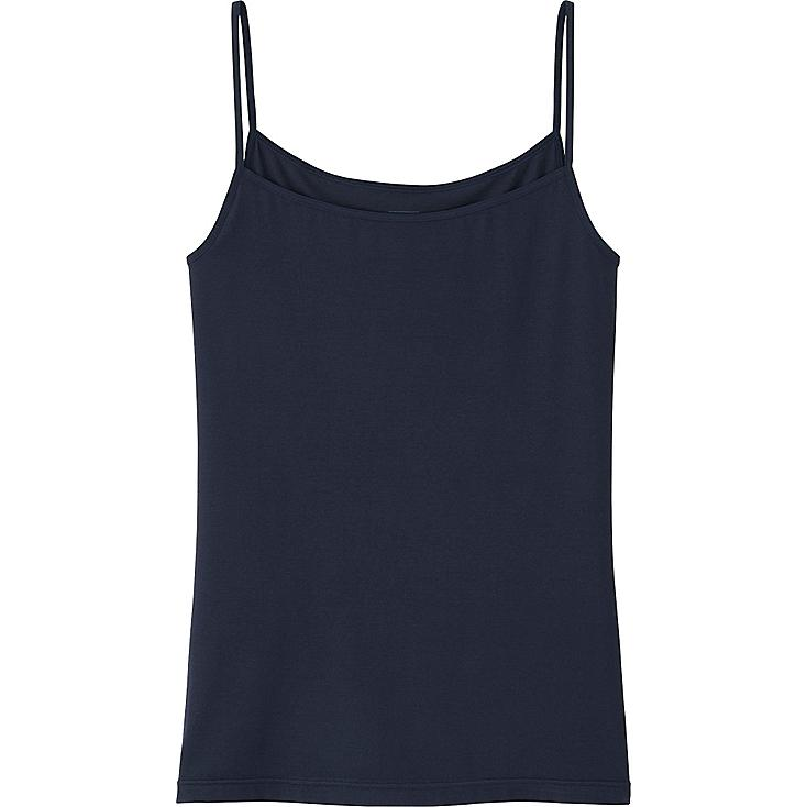 WOMEN HEATTECH CAMISOLE, NAVY, large