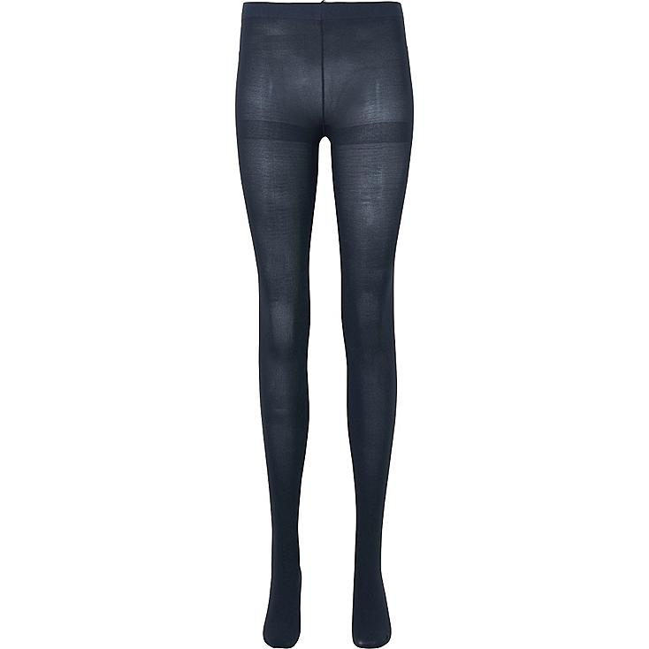 WOMEN HEATTECH TIGHTS, NAVY, large