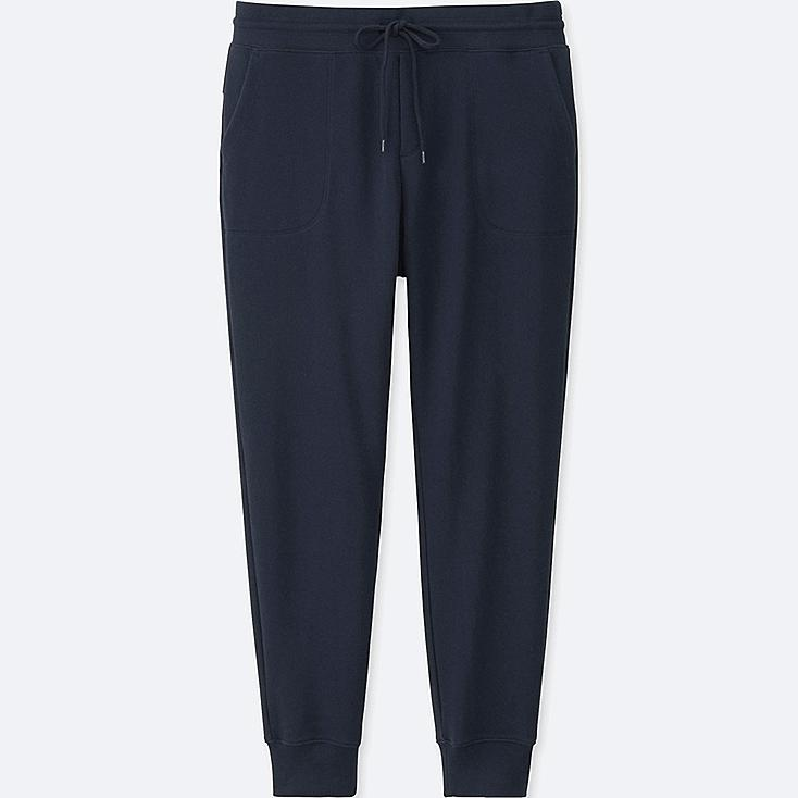 Women Sweatpants, NAVY, large