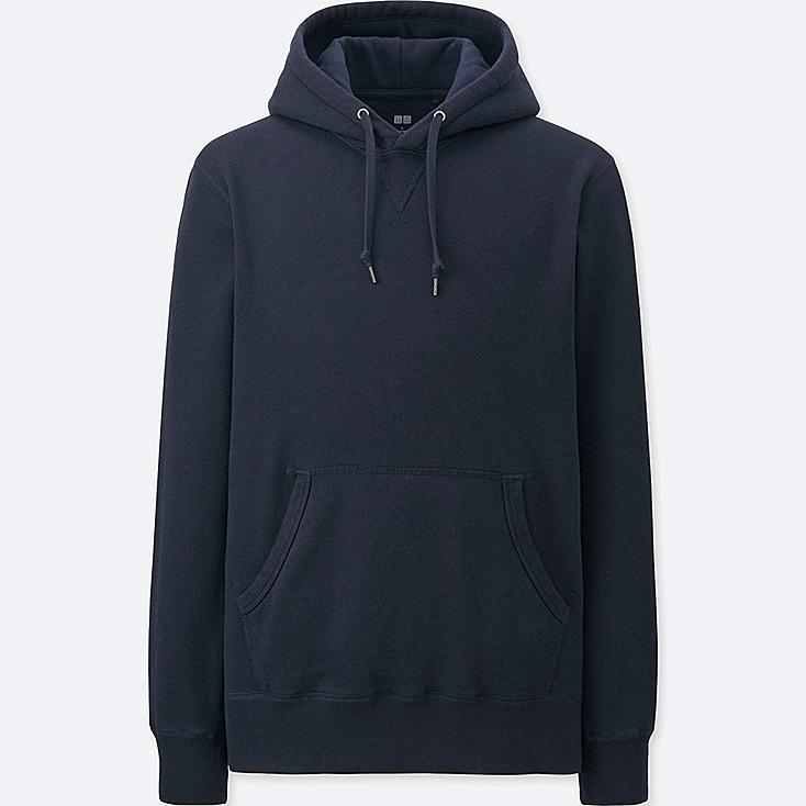MEN SWEAT LONG SLEEVE PULLOVER HOODIE | UNIQLO US