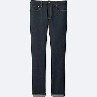 MEN Stretch Selvedge Slim Fit Jeans