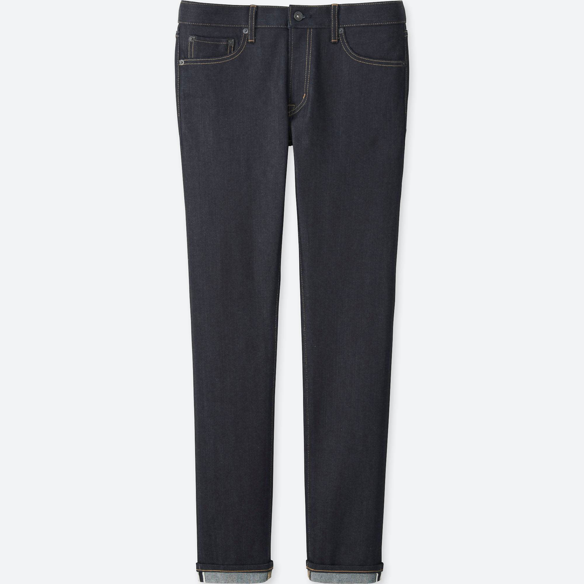 Men Selvedge Skinny Fit Jeans | UNIQLO US