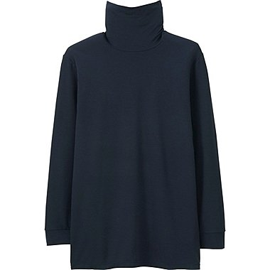 HEATTECH MEN Turtle Neck T (Long Sleeve)
