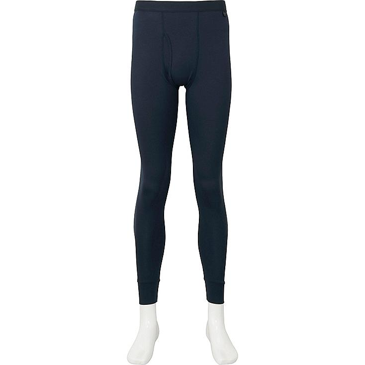 MEN HEATTECH TIGHTS, NAVY, large