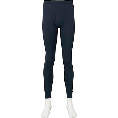 MEN HEATTECH TIGHTS, NAVY, medium