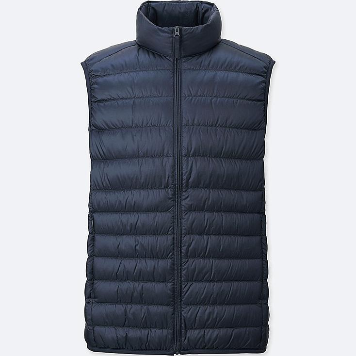 MEN ULTRA LIGHT DOWN VEST, NAVY, large