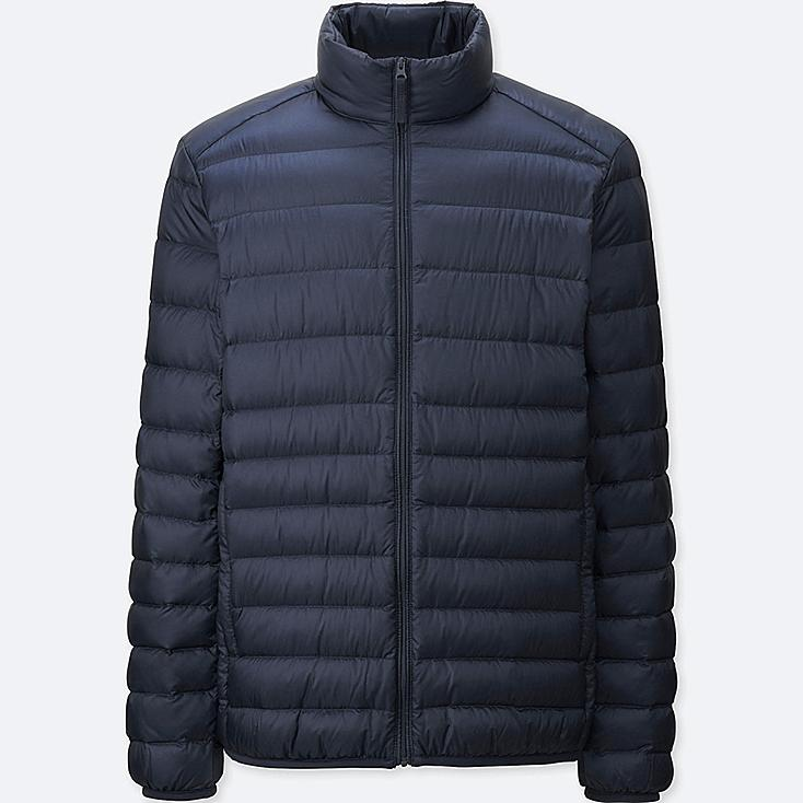 Men Ultra Light Down Jacket, NAVY, large