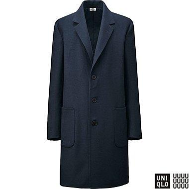 U Manteau chesterfield en laine mélangée Homme