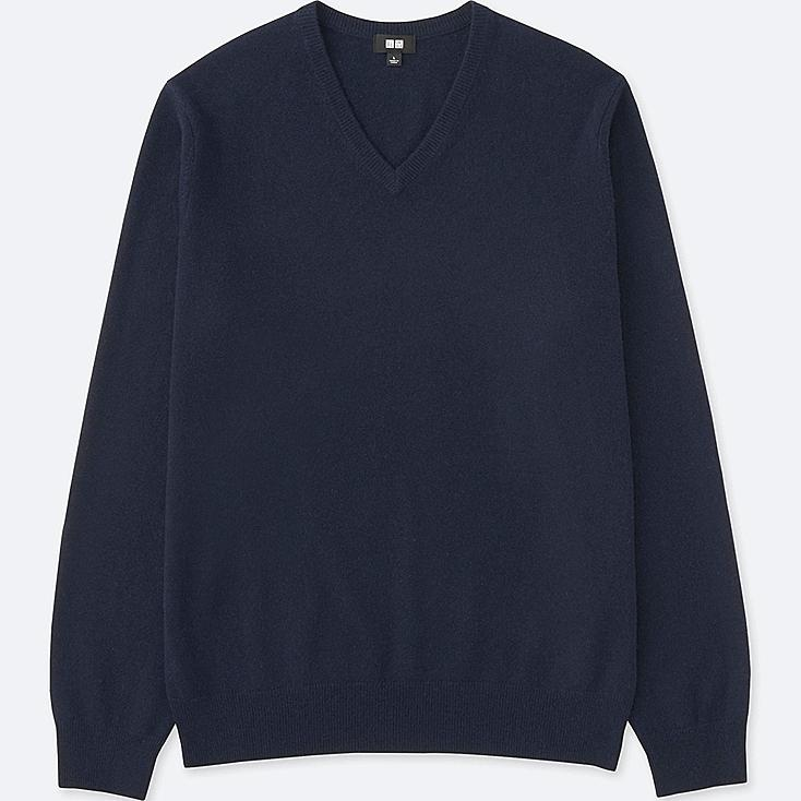 MEN Cashmere V Neck Sweater