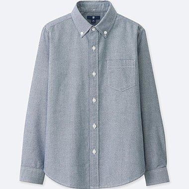 BOYS Oxford Long Sleeve Shirt