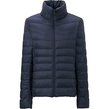 WOMEN ULTRA LIGHT DOWN JACKET, NAVY, medium