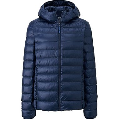 WOMEN ULTRA LIGHT DOWN PARKA, NAVY, medium