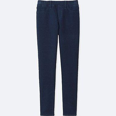 Pantalon Legging Velour Côtelé FILLE