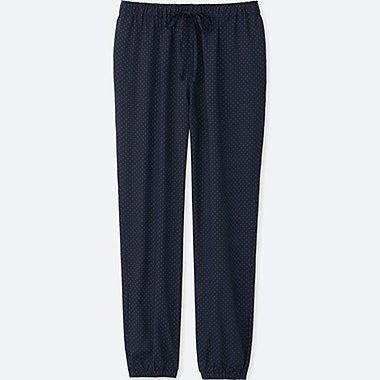 WOMEN Easy Care Drape Pants (Dot)