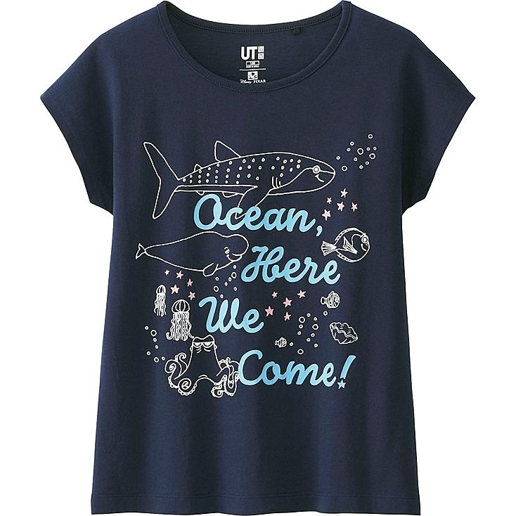 T-Shirt PIXAR's Finding Dory Manches Courtes FILLE