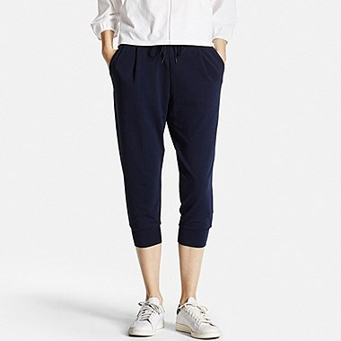 WOMEN AIRism Cropped Trousers