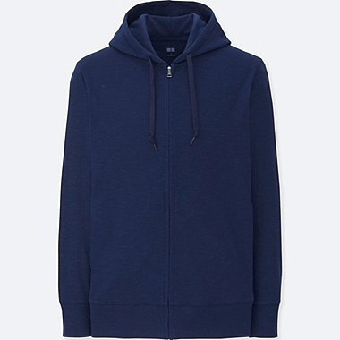 MEN AIRism Long Sleeve Full-Zip Hoodie