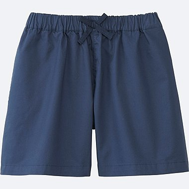GIRLS EASY FLARE SHORTS, NAVY, medium