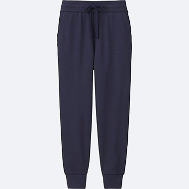 WOMEN SWEATPANTS, NAVY, medium