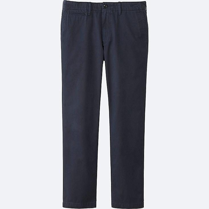 MEN VINTAGE REGULAR-FIT CHINO FLAT-FRONT PANTS | Tuggl
