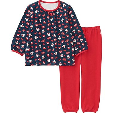 TODDLER DISNEY COLLECTION LONG SLEEVE PAJAMAS, NAVY, medium