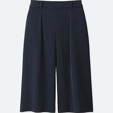 DAMEN Easy Care Culottes Hose Drappiert
