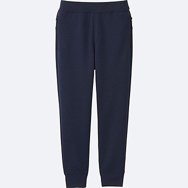 KIDS DRY STRETCH SWEATPANTS, NAVY, medium
