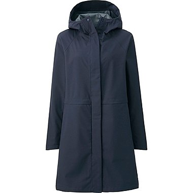 WOMEN Blocktech Hooded Rain Coat