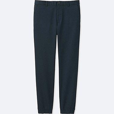 MEN JOGGER PANTS (COTTON), NAVY, medium
