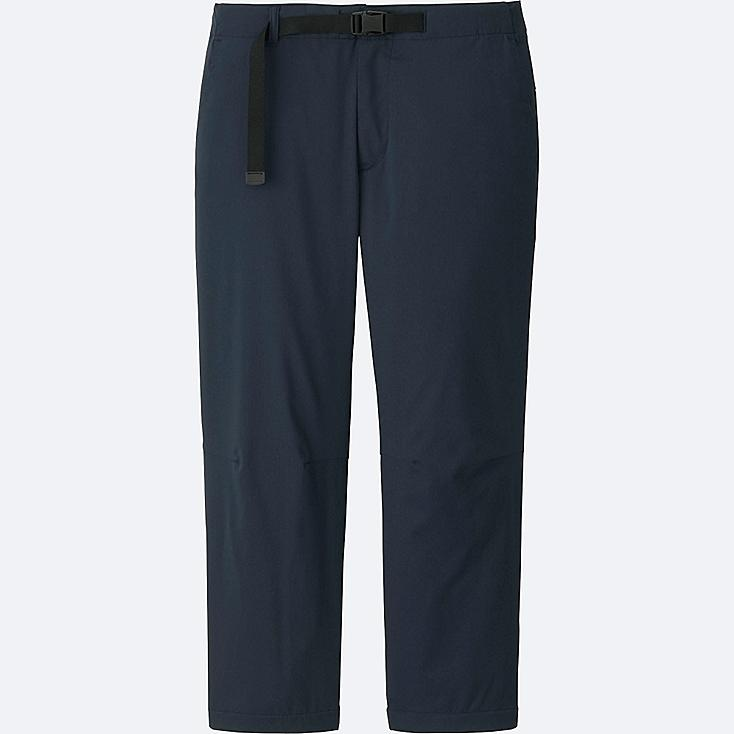 MEN DRY CROPPED JOGGER PANTS, NAVY, large
