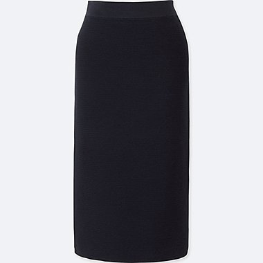 WOMEN Ripple Pencil Skirt