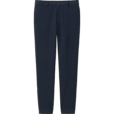 MEN MILANO RIBBED JOGGER PANTS, NAVY, medium