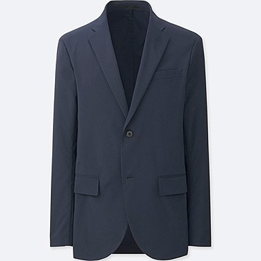 MEN DRY STRETCH JACKET, NAVY, medium