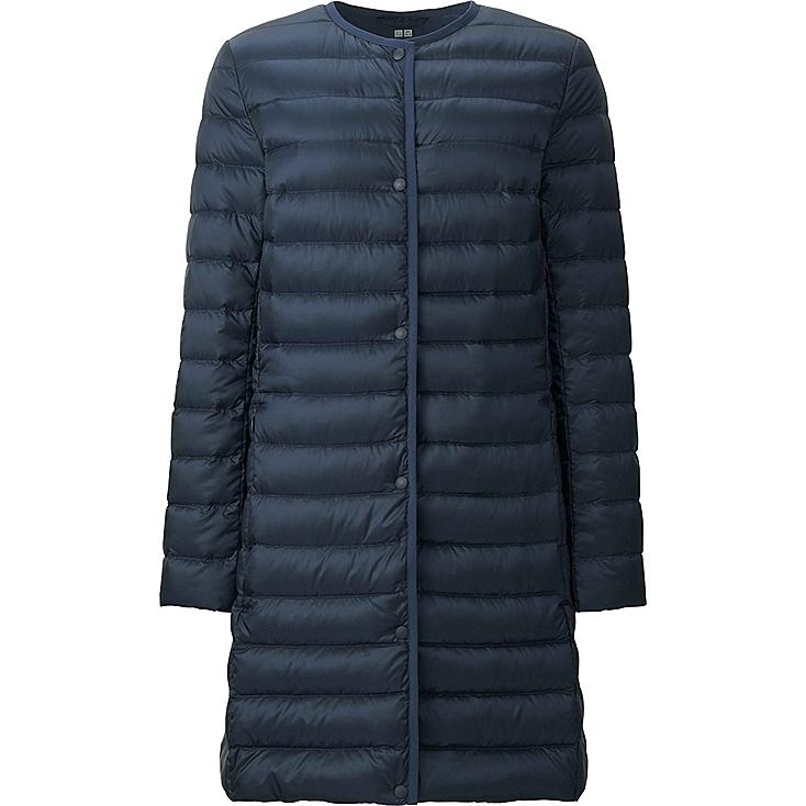 WOMEN ULTRA LIGHT DOWN COMPACT COAT, NAVY, large