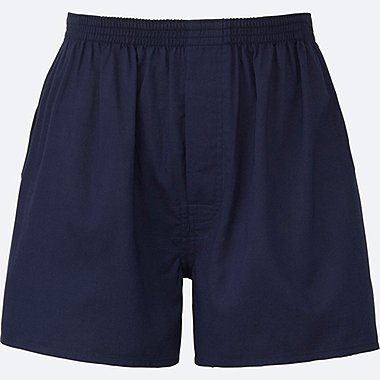 MEN Woven Light Oxford Boxer Shorts