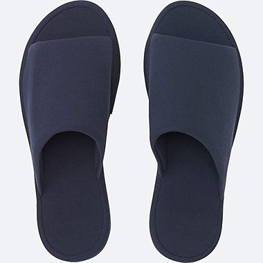 ROOM SHOES (PIQUE), NAVY, medium