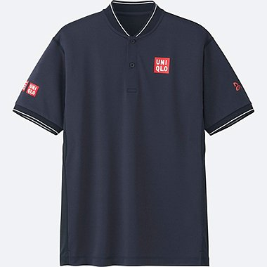 MEN Novak Djokovic Dry-EX Short Sleeve Polo Shirt 17AUS