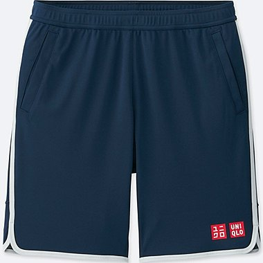 MEN NK DRY SHORTS, NAVY, medium