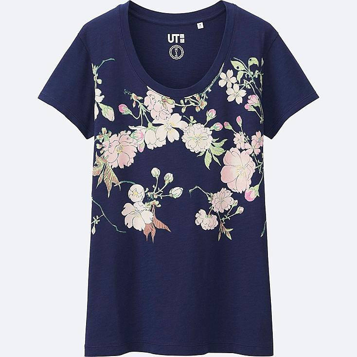 WOMEN HAIBARA Short Sleeve Graphic T-Shirt