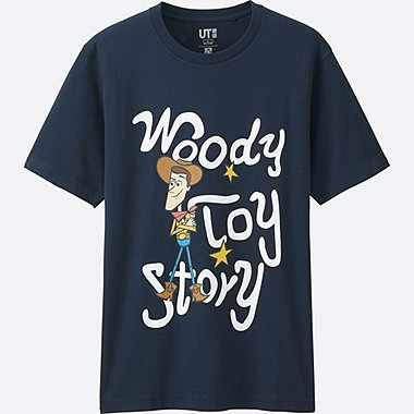 MEN Disney/PIXAR Collection GRAPHIC T-SHIRT, NAVY, medium