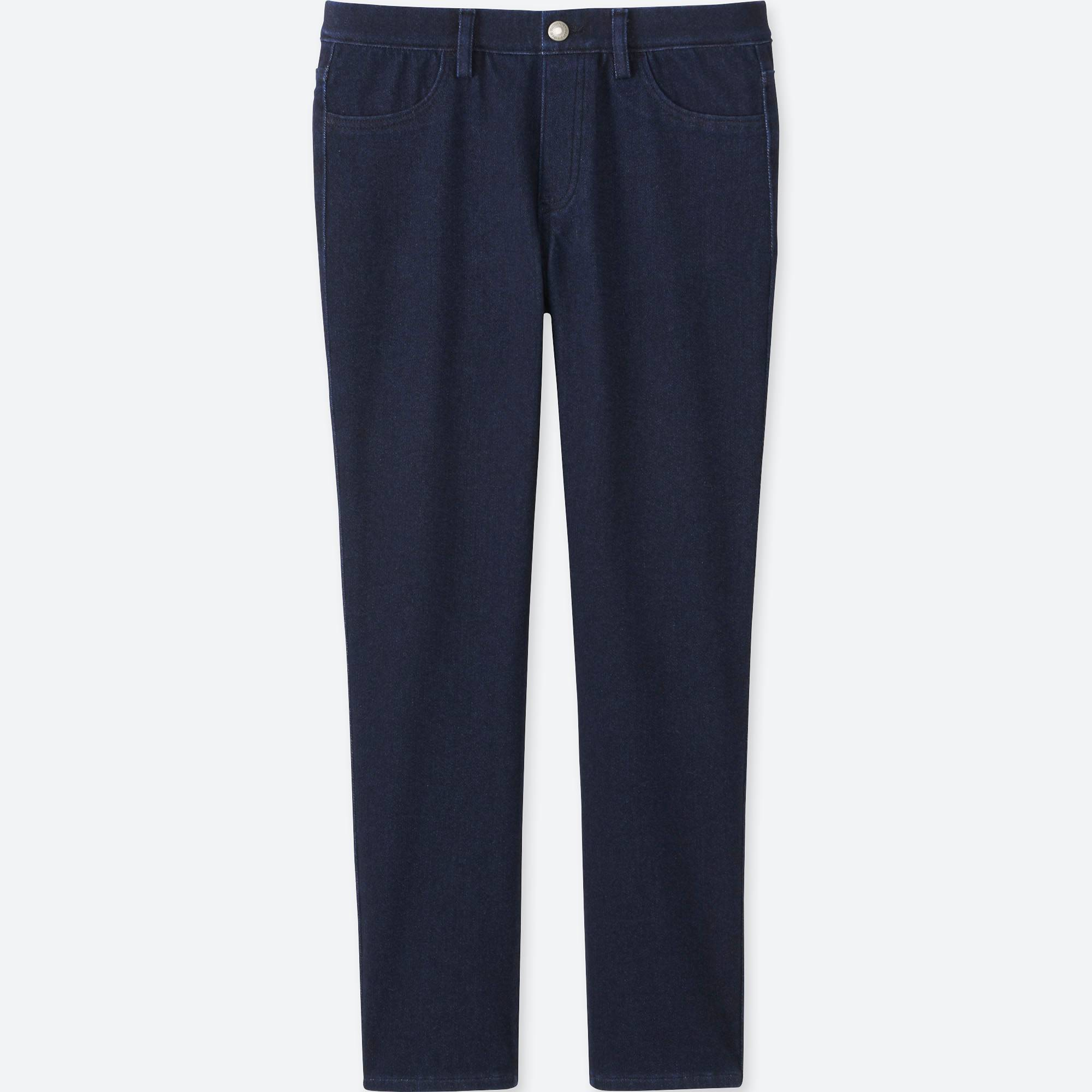 UNIQLO / Quần legging women denim cropped leggings pants