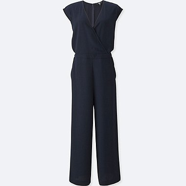 WOMEN Wrap Front Jumpsuit