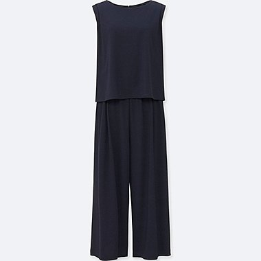 WOMEN Jersey Sleeveless Jumpsuit