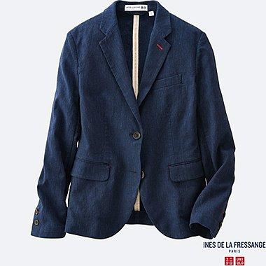 WOMEN INES Pinstripe Jacket