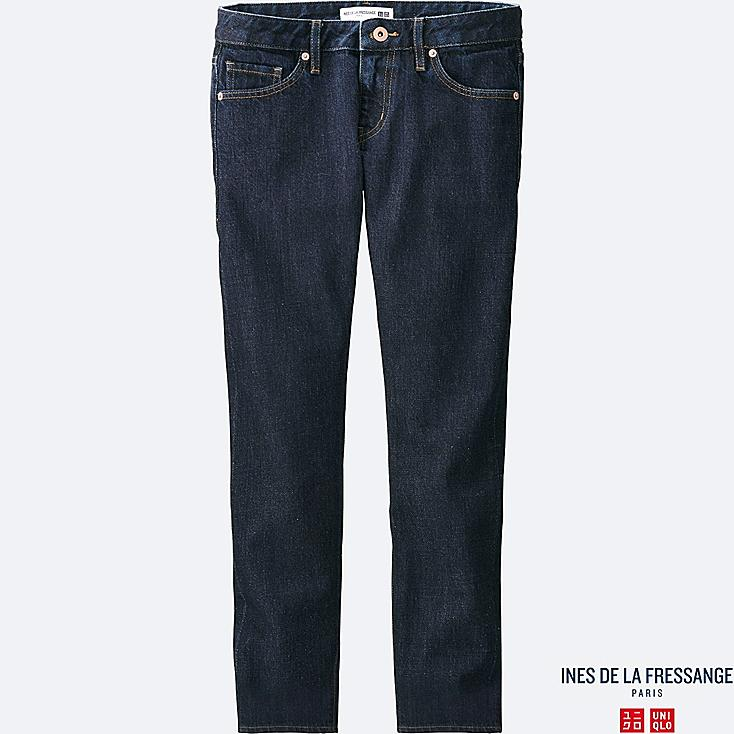 WOMEN INES Selvedge Ankle Length Jeans