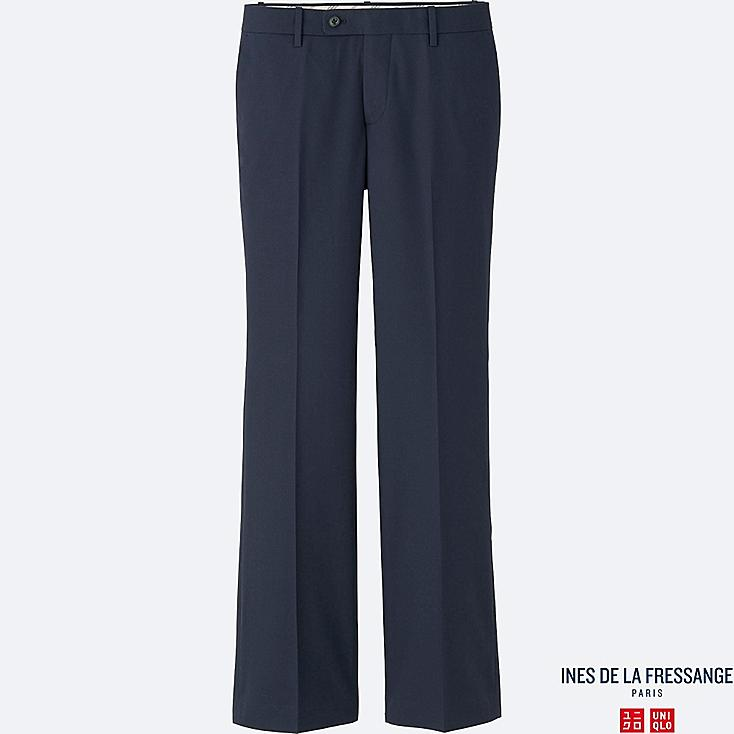 WOMEN INES Straight Flare Trousers