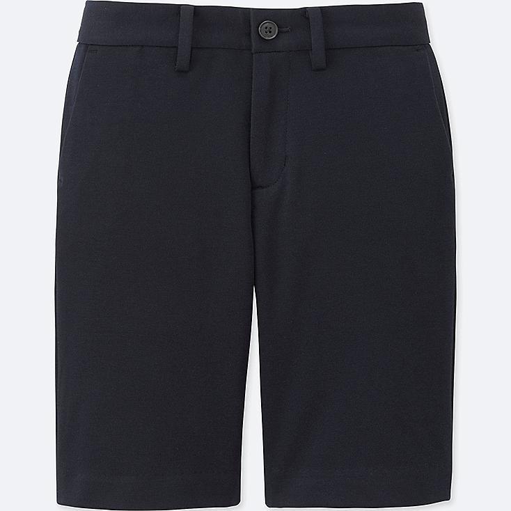 BOYS COMFORT KNEE LENGTH PANTS, NAVY, large