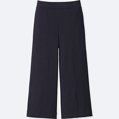 WOMEN Milano Ribbed Culottes Trousers